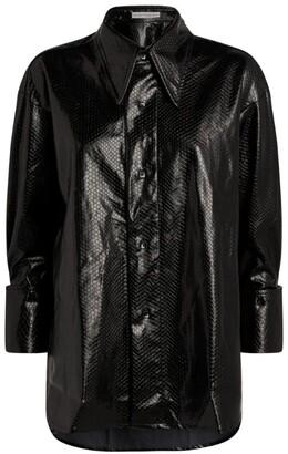 Palmer Harding Marcai Faux Snakeskin Shirt