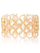 Gold-tone Multi Link Chain Bracelet