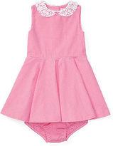 Ralph Lauren Gingham Cotton Dress & Bloomer