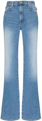 Denimist Stonewashed Flared Jeans