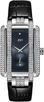 JBW Women's Phantom Diamond Swiss Quartz Croc Embossed Leather Strap Watch, 28mm - 0.02 ctw