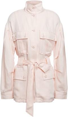 Joie Tie-front Twill Jacket