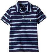 Polo Ralph Lauren Yarn-Dyed Slub Jersey Cut Top Boy's Short Sleeve Knit