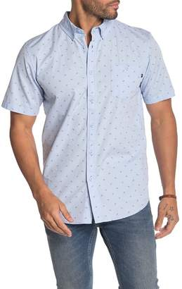 Obey Jack Regular Fit Woven Short Sleeve Shirt
