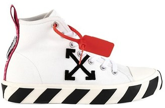 Off-White Mid-Top Arrow Sneakers