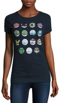 Freeze Pokemon Graphic T-Shirt- Juniors