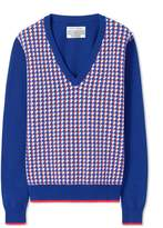 Gem Geo V-Neck Sweater