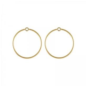 Daou Jewellery Large Orbit Earrings Multiplier