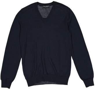 Dolce & Gabbana Blue Wool Knitwear & Sweatshirts