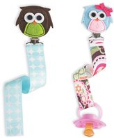 Mud Pie Owl Pacy Clip in Blue