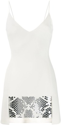 David Koma Embellished Mini Dress