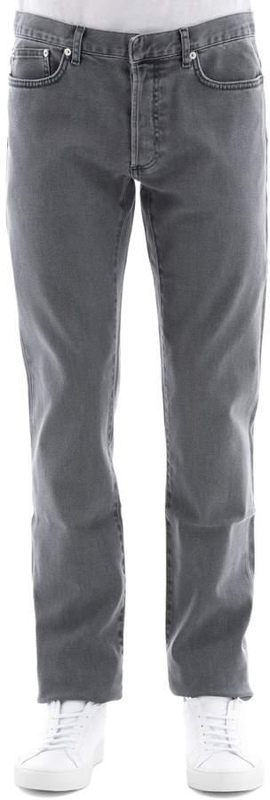 Christian Dior Grey Cotton Jeans