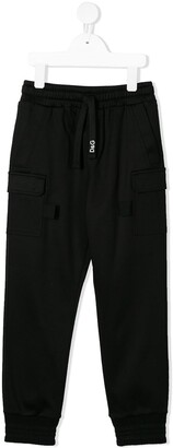 Dolce & Gabbana Kids Branded Track Pants