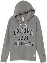 PINK University Of Oxford Crossover Pullover Hoodie
