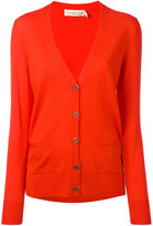Tory Burch V-neck cardigan - women - Merino - XS