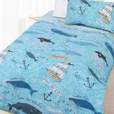 Happy Kids Whales Glow in the Dark Quilt Cover Set