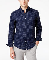 Ben Sherman Men's Dot-Pattern Cotton Shirt
