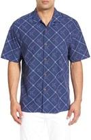 Tommy Bahama 'Rhumba Dobby' Original Fit Short Sleeve Sport Shirt