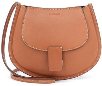 Jil Sander Small leather crossbody bag