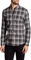 Farah Plaid Long Sleeve Slim Fit Shirt