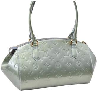 Louis Vuitton Green Patent leather Handbag