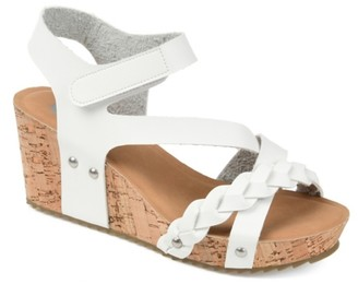 Journee Collection Gizel Wedge Sandal