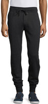 Moncler Slim-Fit Jogger Pants, Charcoal