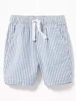 Old Navy Striped Built-In Flex Seersucker Shorts for Toddler Boys