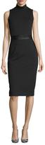 Kimora Lee Simmons Mockneck Sheath Dress
