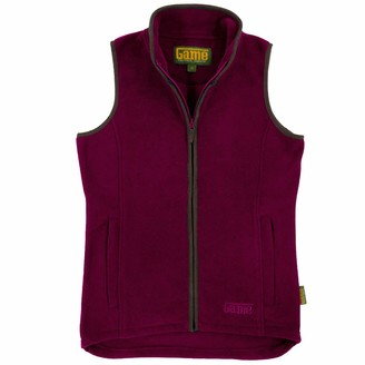 Game Technical Apparel Game Ladies Penrith Fleece Gilet | Womens Winter Vest | Warm Waistcoat Forest Green