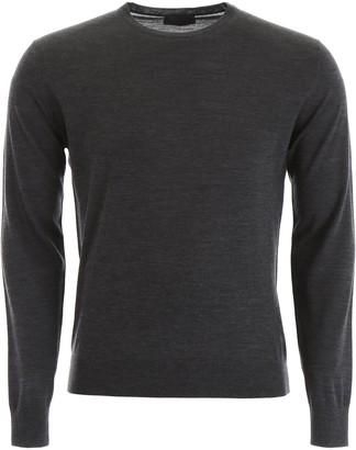 Prada Knitted Crew Neck Sweater