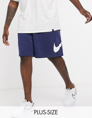 Nike Club shorts in navy