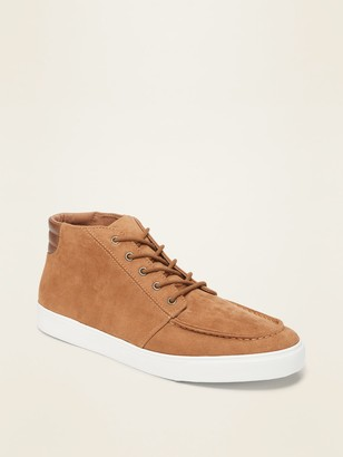 Old Navy Faux-Suede Mid-Top Moccasins for Men