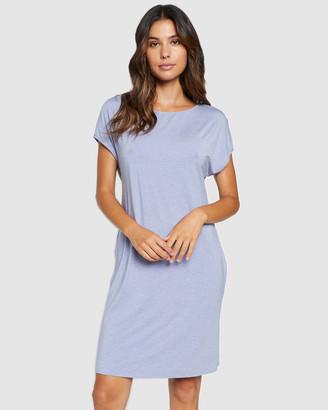 Hanro Natural Elegance Short Sleeve Nightdress