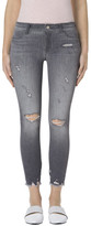 J Brand 9326 Low-Rise Crop Skinny in Provocateur Destruct