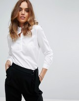 Sisley Blouse with Neck Detail