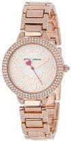 Betsey Johnson Women's BJ00235-02 Rose Gold-Tone Bracelet Watch