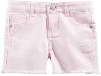 Epic Threads Toddler Girls Frayed Denim Shorts