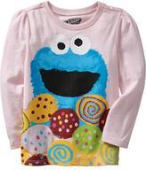 Sesame Street Cookie Monster Tees for Baby