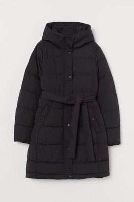 H&M MAMA Padded hooded jacket