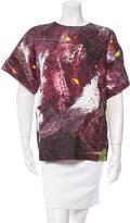 Dolce & Gabbana Silk Jacquard Top w/ Tags