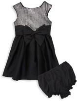 Pippa & Julie Baby Girl's 2-Piece Sequin Dress & Bloomers Set