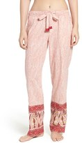Lucky Brand Women's Print Cotton Pajama Pants