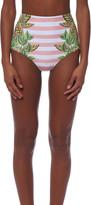 Mara Hoffman High Waisted Cutout Bikini Bottom