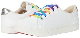 Ugg Kids Zilo (Toddler/Little Kid/Big Kid) (White Leather) Girl's Shoes