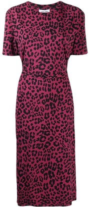 Kenzo leopard print T-shirt dress