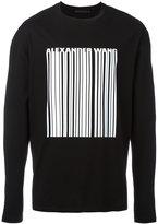 Alexander Wang printed sweatshirt - men - Cotton - 48