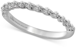 Bliss Monique Lhuillier Diamond Anniversary Band (3/8 ct. t.w.) in 14k White Gold