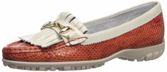 Marc Joseph New York Women's Leather Made in Brazil Lexington Golf Shoe