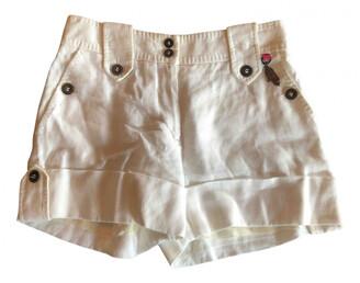 Matthew Williamson white Cloth Shorts
